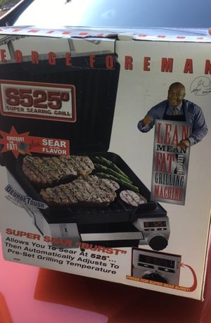 George Foreman Super Searing Grill GFS80 for Sale in North Potomac, MD