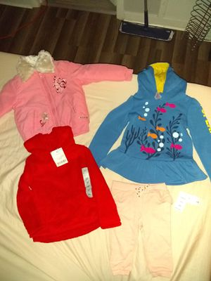 Brand New name brand kids clothes with tags never worn for Sale in Brentwood, PA