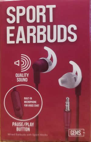 Gems Sport Earbuds Quality Sound for Sale in The Bronx, NY