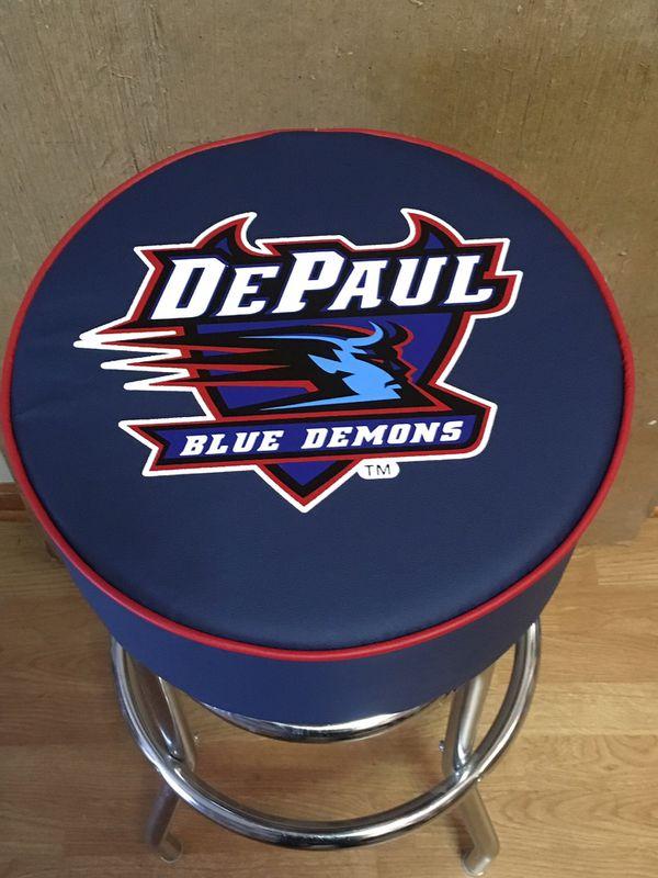 DePaul Blue Demon Bar Stool - NEW