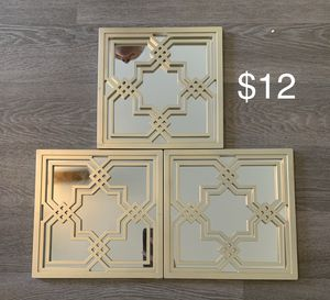 Decorative wall mirrors. for Sale in Norfolk, VA