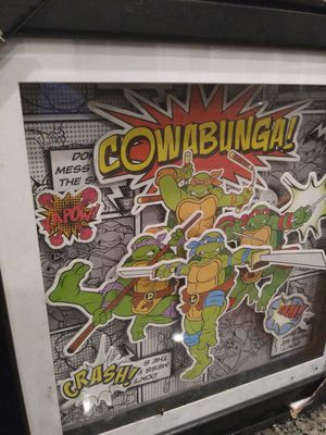 Teenage Mutant Ninja Turtles Shadow box for Sale in Gaithersburg, MD