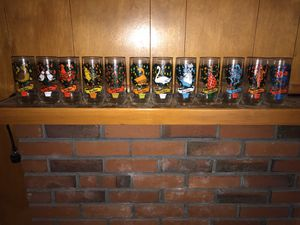 Vintage 12 Days of Christmas drinking glasses for Sale in Vancouver, WA