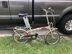 Folding bike. for Sale in Hollywood, FL