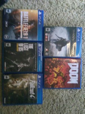 PS4 game bundle for Sale in Austin, TX