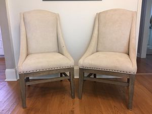 Two dining or side chairs for Sale in Baton Rouge, LA