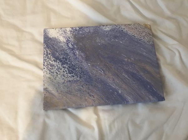 Acrylic Pour Painting 2