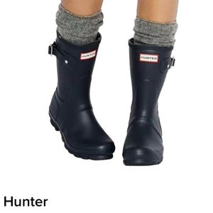 Hunters Women's Original Short Back Adjustable Rain Boots Sz 7 for Sale in Las Vegas, NV