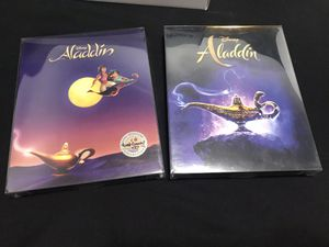 Aladdin 4k steelbooks for Sale in Los Angeles, CA