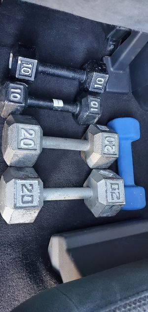 SET OF WEIGHTS 70 pounds for Sale in Las Vegas, NV