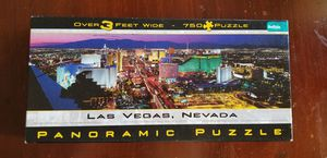 Las Vegas Nevada Panoramic Puzzle for Sale in VLG WELLINGTN, FL