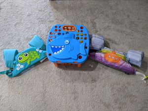 Kids swim floats and sand toys for Sale in Keller, TX