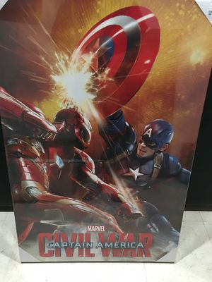 Marvel captain America CanvasPrints for Sale in Lynnwood, WA