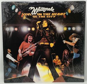 """SEALED!! 1980 Whitesnake Live In The Heart Of The City 12"""" LP Album for Sale in Palos Hills, IL"""