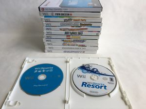 """Wii Games - Mario Kart, Wii Sports Resort, Just Dance,PLEASE click """"READ MORE"""" in description for full list of games for Sale in Boca Raton, FL"""