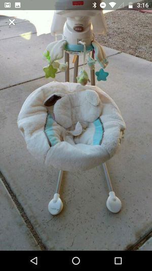 Fisher Price snug a puppy swing for Sale in Peoria, AZ