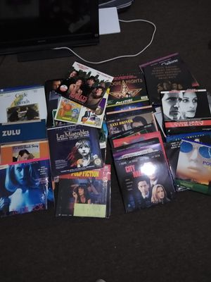 Laserdisc movies for Sale in E RNCHO DMNGZ, CA