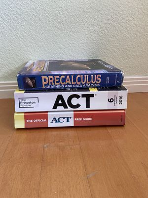 Test prep books for Sale in San Diego, CA