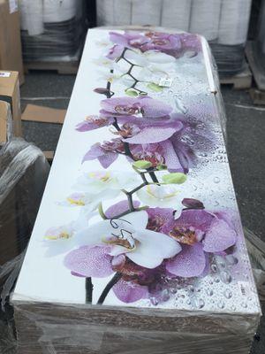 Beautiful Floral Art Picture HUGE 6ft x 2ft for Sale in Wilmington, DE
