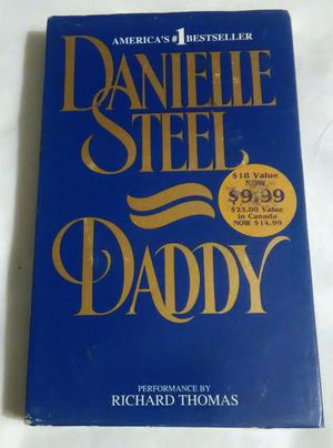 Danielle Steel DADDY AudioBook Read by Richard Thomas 2 Cassette Tapes Abridged for Sale in Largo, FL
