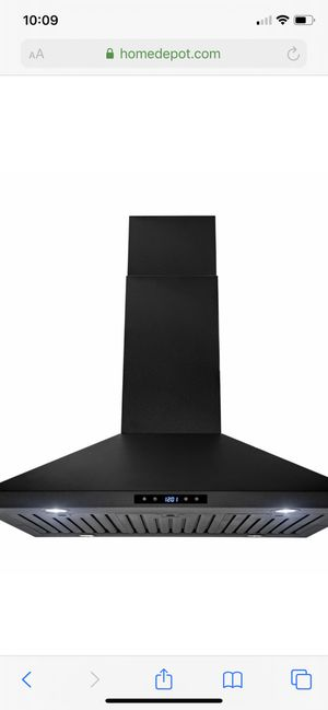 "36"" 470 CFM Convertible Kitchen Island Range Hood. for Sale in West Los Angeles, CA"
