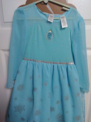 Disney Elsa dress size 6 for Sale in Bristol, PA