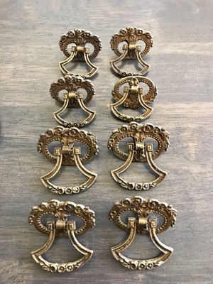 Set of antique brass drawer pulls for Sale in Federal Way, WA