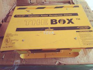 The box portable distribution center for Sale in Riverside, CA