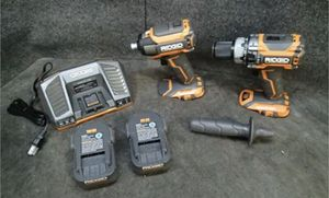 """Ridgid R 18V Hammer Drill/Driver & Impact Driver Combo Set, 1/2"""" Chuck* for Sale in St. Petersburg, FL"""