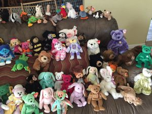 Ty Beanie babies and Skansen Beanie Kids for Sale in Ceres, CA