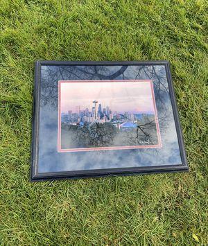 PENDING Seattle Skyline Framed Wall Art for Sale in Everett, WA