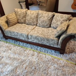 Couch 8 Feet Long Comfortable And Beautiful for Sale in Tacoma, WA