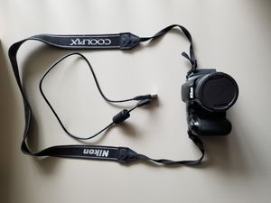 Nikon Coolpix digital camera with cable for Sale in Bellaire, TX