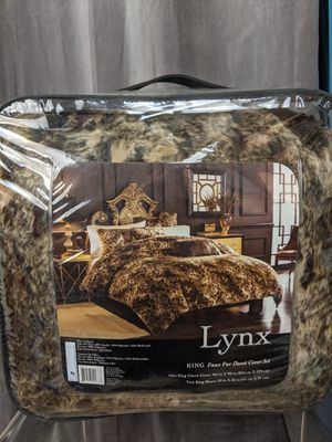 New King faux fur duvet blanket Game of thrones for Sale in Mountain View, CA