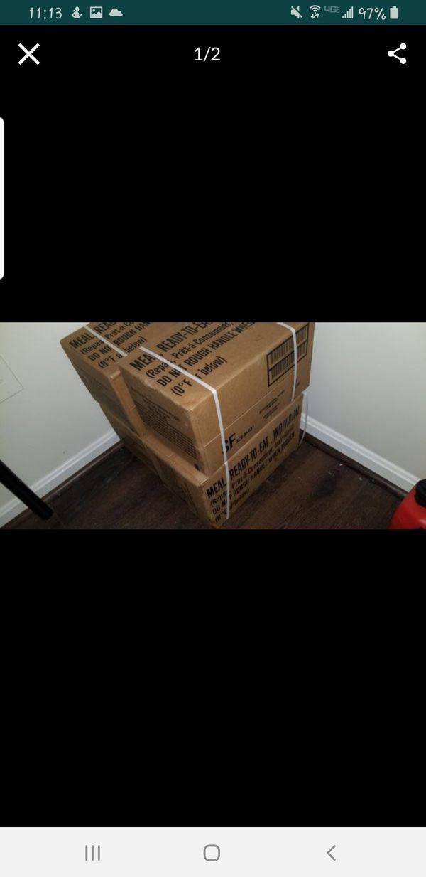 MRE boxes