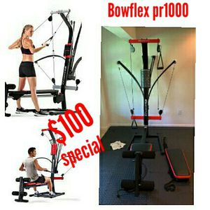 Bowflex pr1000 home gym for Sale in Los Angeles, CA