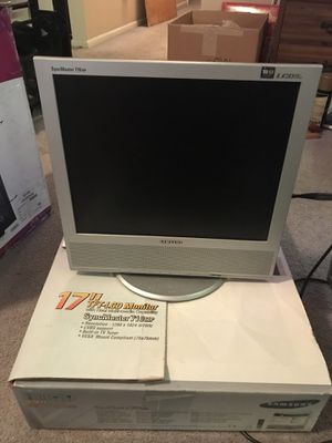 "Samsung 17"" TV / computer monitor for Sale in Chicago, IL"