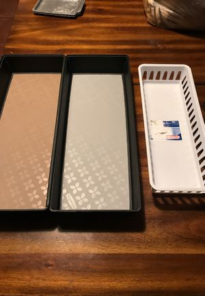 Rubbermaid drawer organizers for Sale in Hialeah, FL
