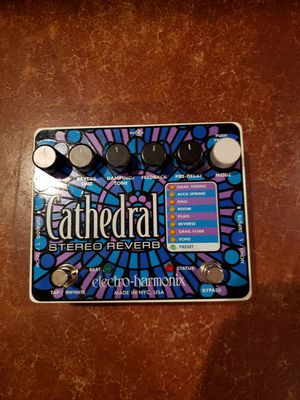 Electro-Harmonix Cathedral Stereo Reverb Pedal for Sale in Columbia, MO