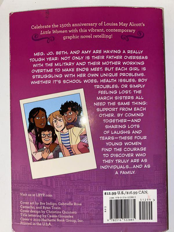 Little Women retelling, Meg, Jo, Beth, and Amy Graphic novel