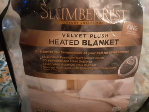 Heated/Electric Blanket King size for Sale in Portland, OR