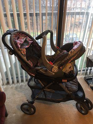 Stroller car seat travel set for girl for Sale in Fort Washington, MD