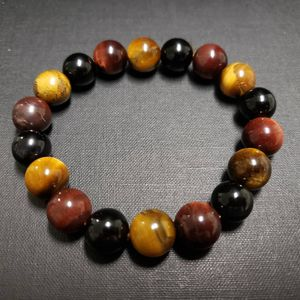 ***NATURAL STONE.-African Tiger Eye Bracelet 10mm (Help Make Right Decision, $$ Making, Calm Emotions) for Sale in Rancho Cucamonga, CA
