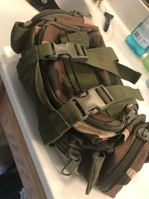 Mini Camo Military Style Waist Bag for Sale in Catonsville, MD