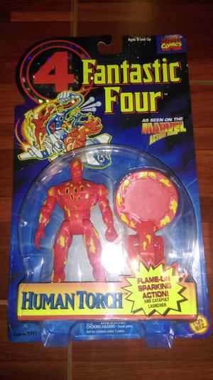 Fantastic Four Human Torch Action Figure for Sale in National City, CA