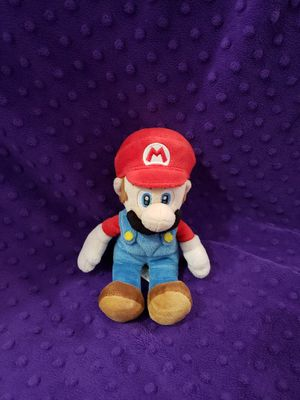 Collectible Mario Plushie for Sale in Tacoma, WA