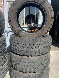 LT 37x13.50R22 Fury Country Hunter MT for Sale in Hayward,  CA