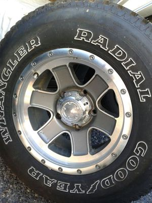 Four wheel drive five lugs rims and tires for Sale in Chester, PA