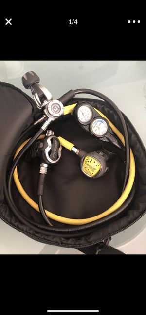 Cressi AC 10V Master Cromo Regulator with C2 Gauge for Sale in Westfield, IN