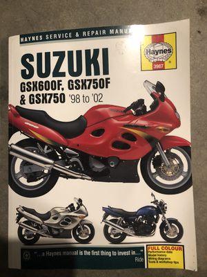 Repair manual Suzuki katana for Sale in Columbia, PA